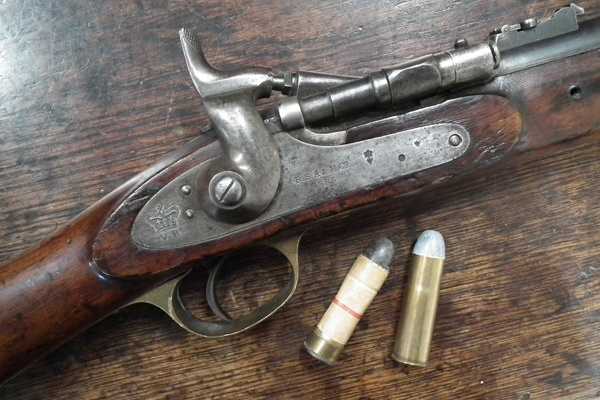 Snider Rifle and two .577 cartridges